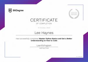 Master Python Basics